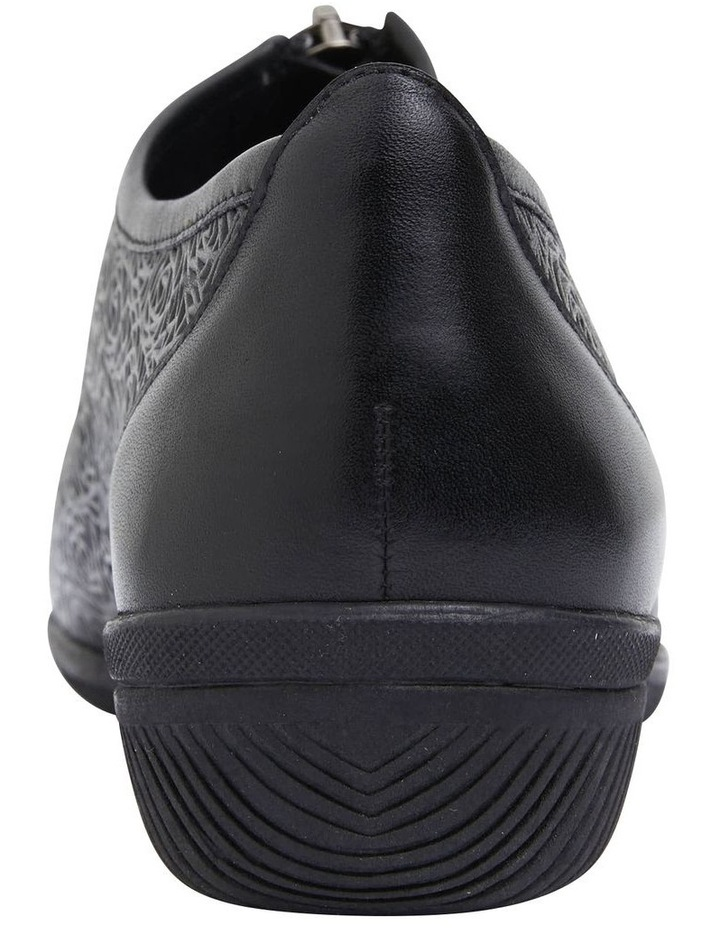 Wiley Black Glove Flat Shoes image 5