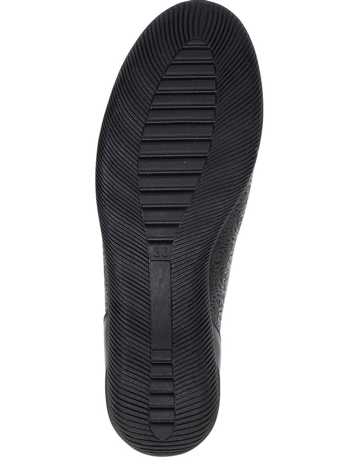 Wiley Black Glove Flat Shoes image 6