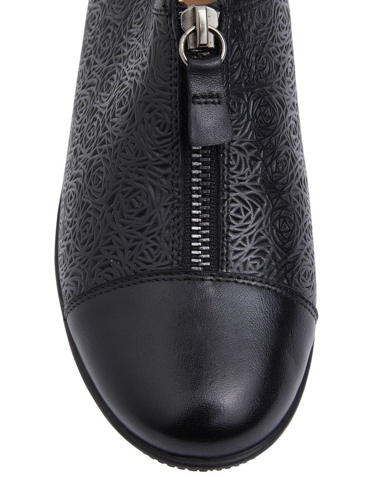 Wiley Black Glove Flat Shoes image 7