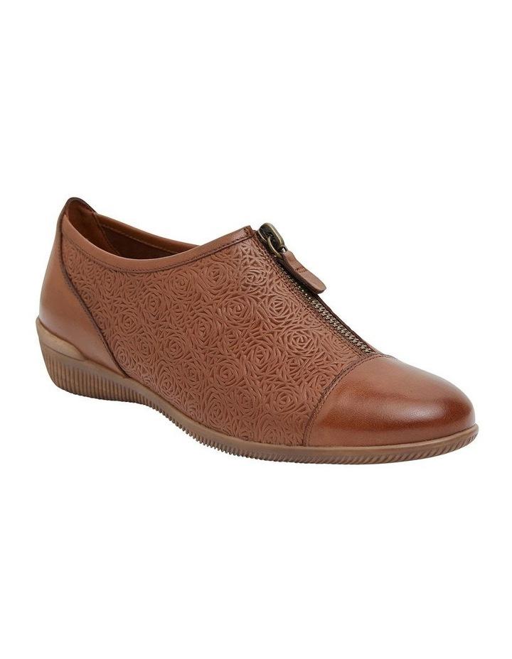 Wiley Cognac Flat Shoes image 2