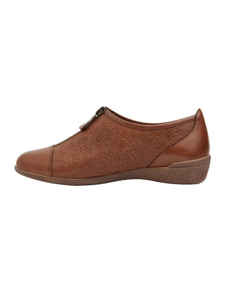 Wiley Cognac Flat Shoes image 3