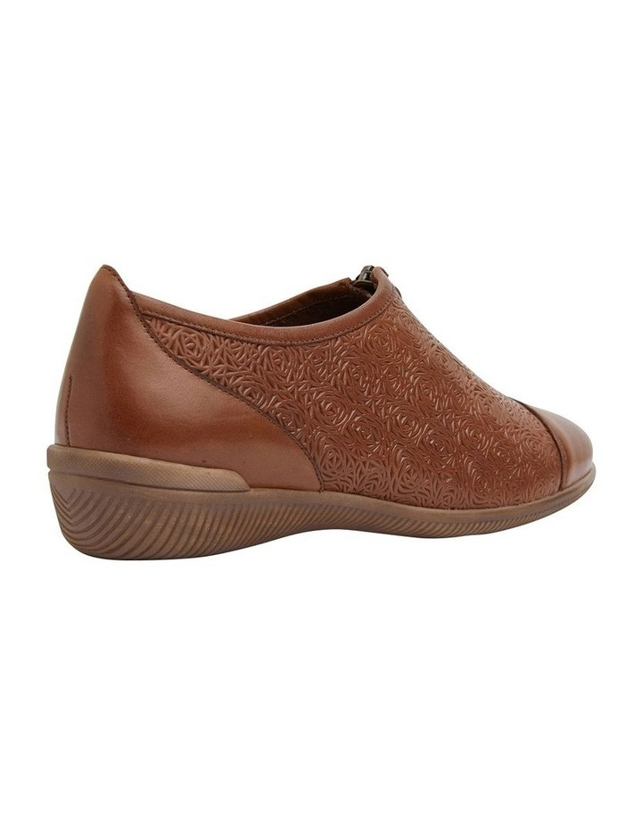Wiley Cognac Flat Shoes image 4