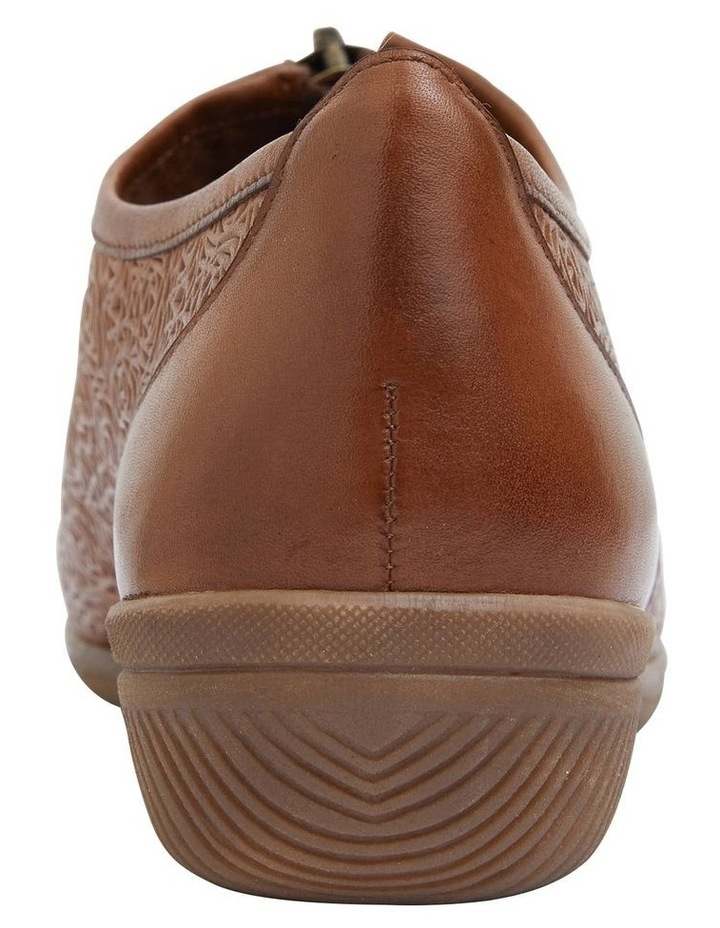 Wiley Cognac Flat Shoes image 5