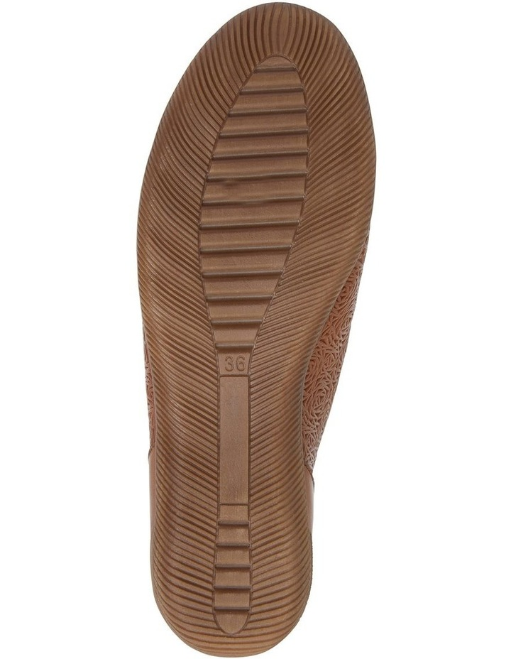 Wiley Cognac Flat Shoes image 6