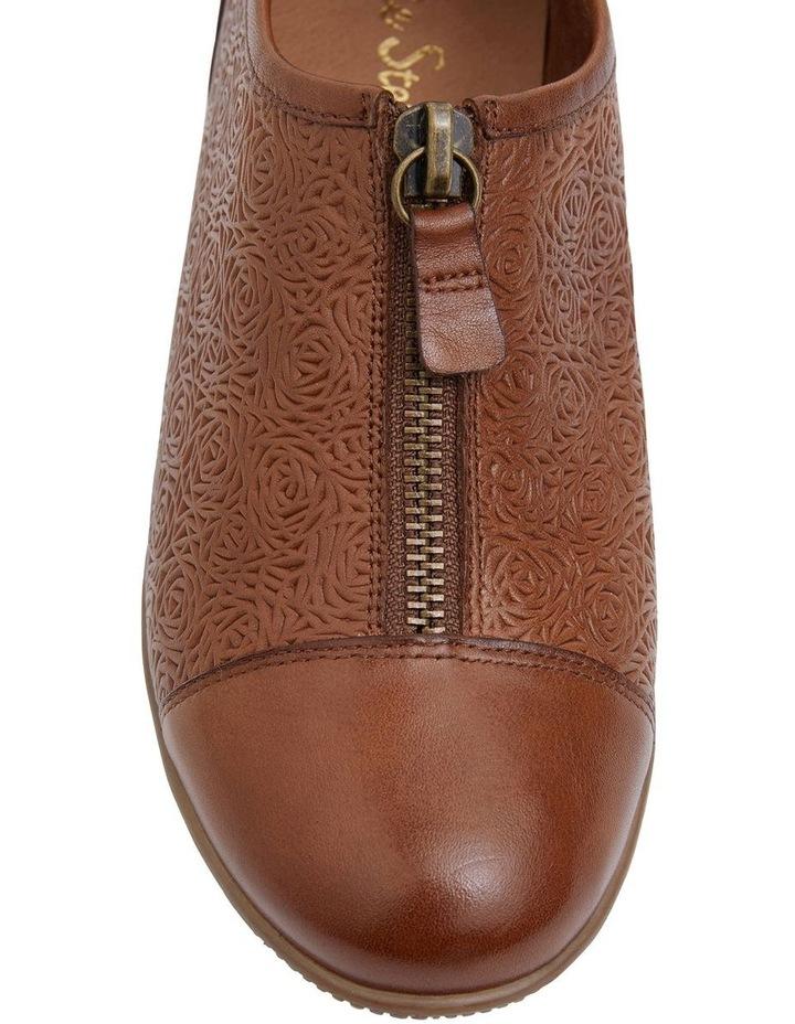 Wiley Cognac Flat Shoes image 7
