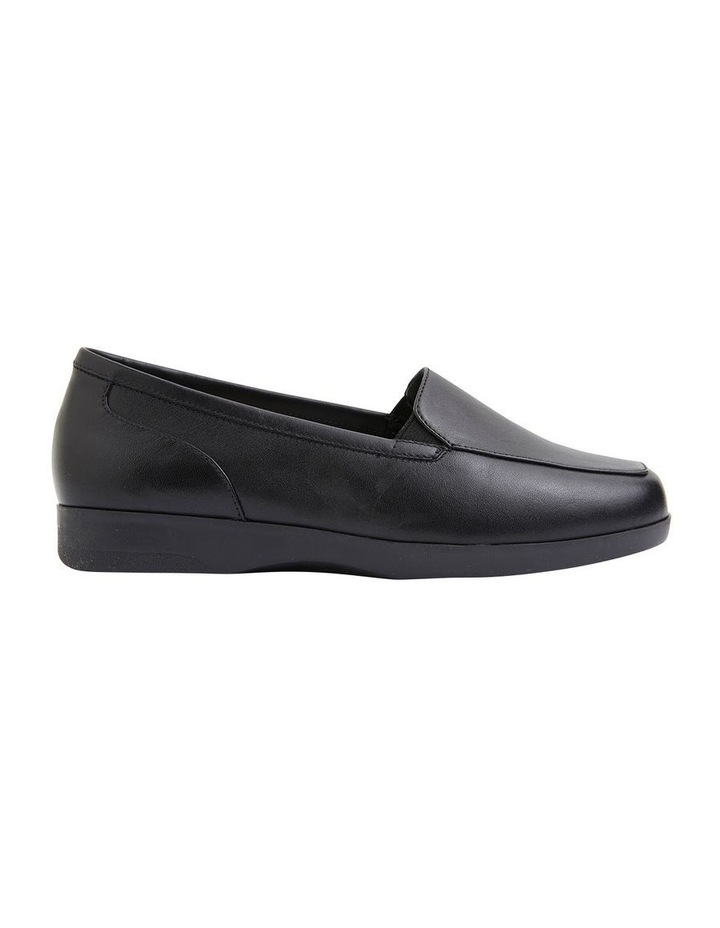 Verse Black Glove Flat Shoes image 1