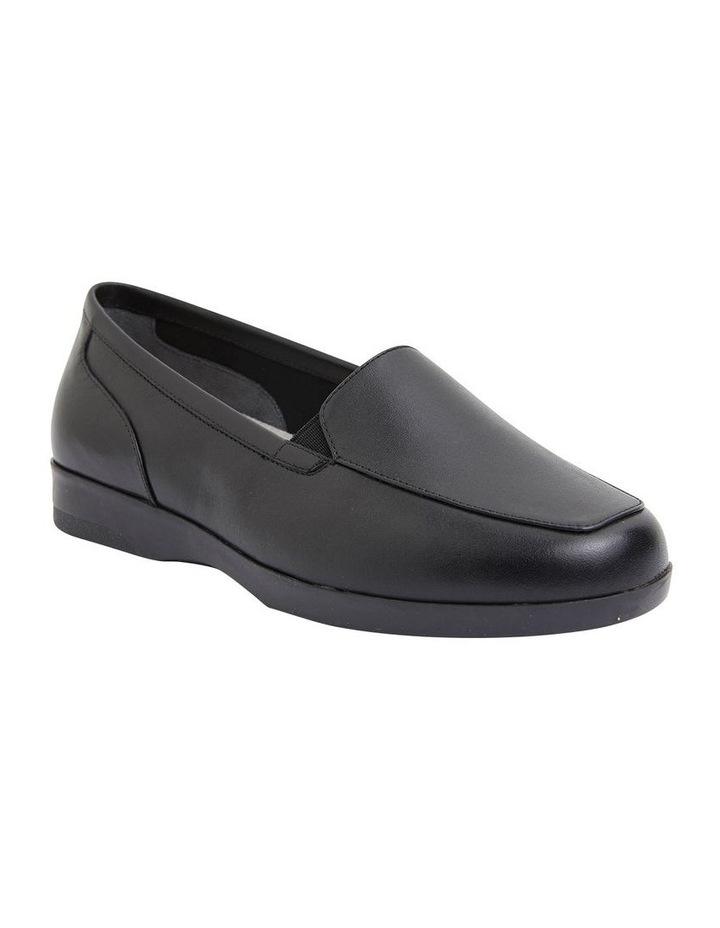 Verse Black Glove Flat Shoes image 2