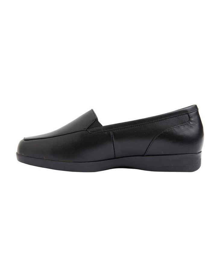 Verse Black Glove Flat Shoes image 3
