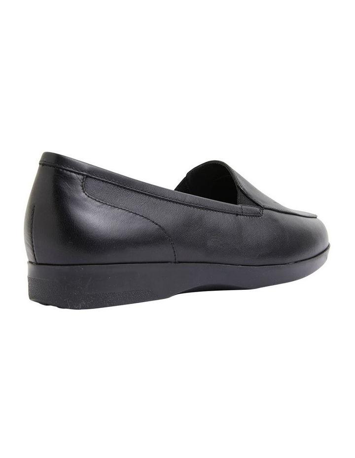 Verse Black Glove Flat Shoes image 4