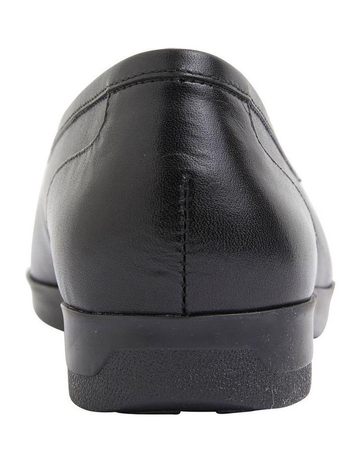 Verse Black Glove Flat Shoes image 5