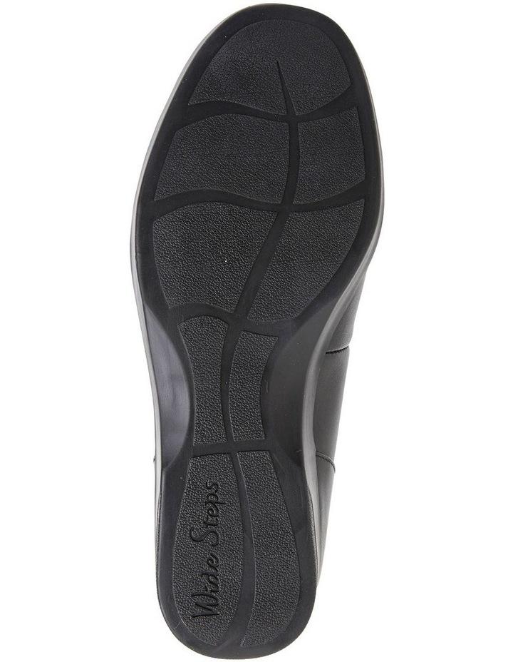 Verse Black Glove Flat Shoes image 6