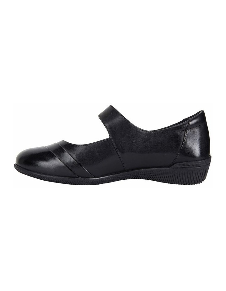Winston Black Glove Heeled Shoes image 3