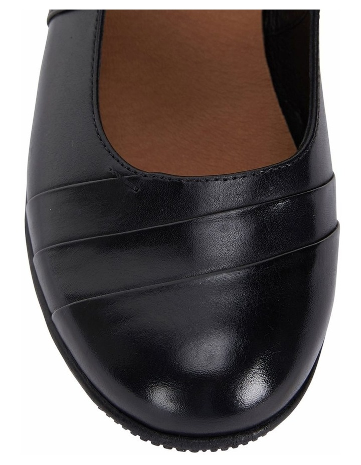 Winston Black Glove Heeled Shoes image 7