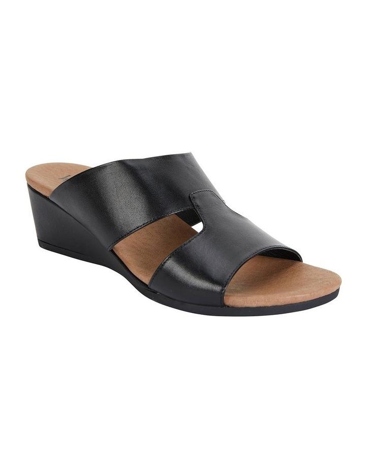 Melanie Black Glove Sandals image 2