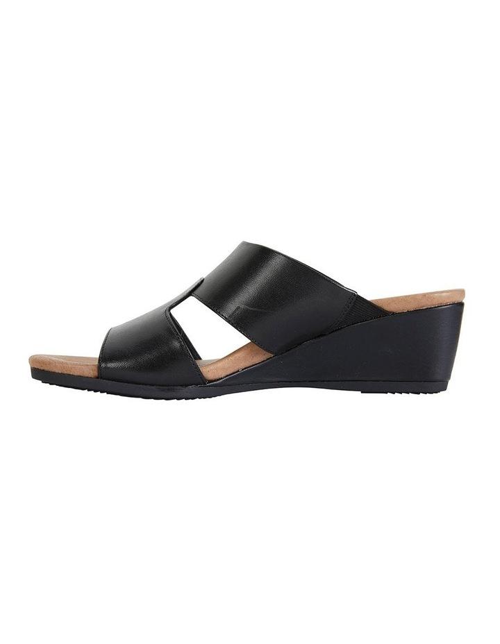 Melanie Black Glove Sandals image 3