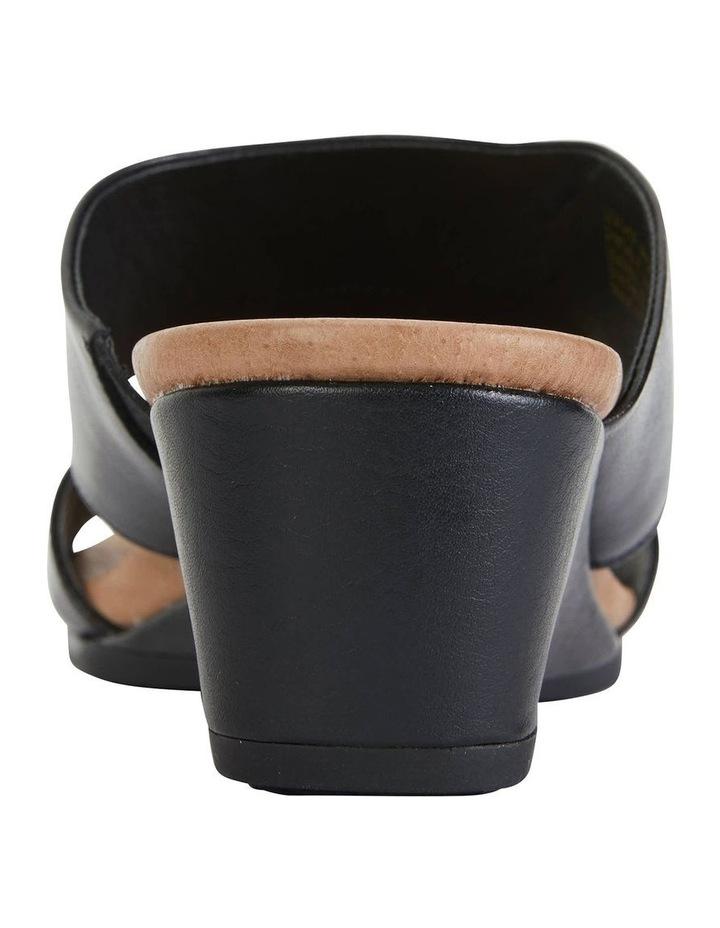 Melanie Black Glove Sandals image 6