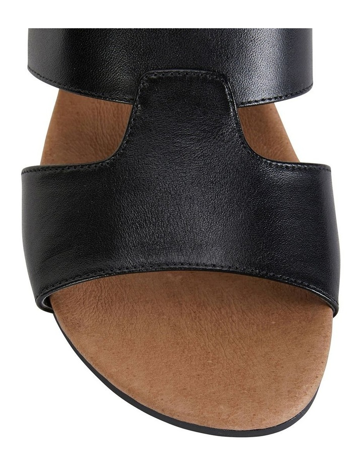 Melanie Black Glove Sandals image 7