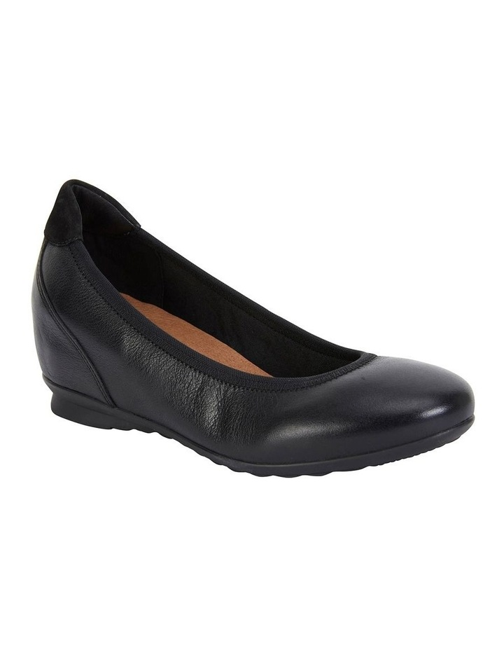 Norah Black Glove Heeled Shoes image 2