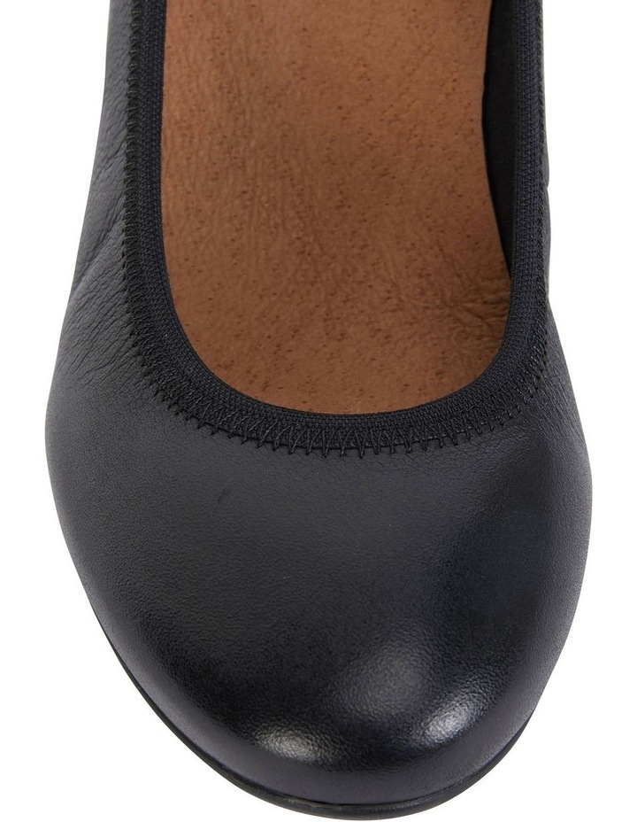 Norah Black Glove Heeled Shoes image 7