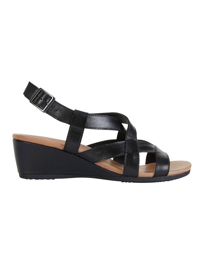 Miriam Black Glove Sandal image 1