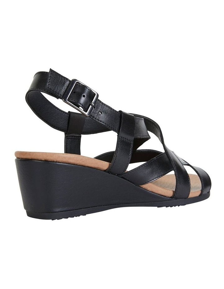 Miriam Black Glove Sandal image 4