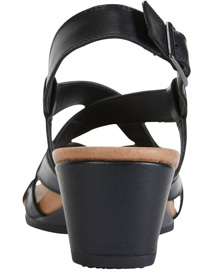 Miriam Black Glove Sandal image 6