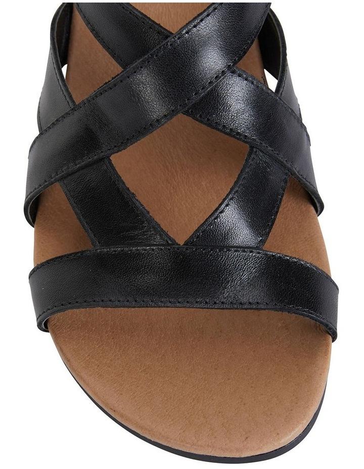Miriam Black Glove Sandal image 7
