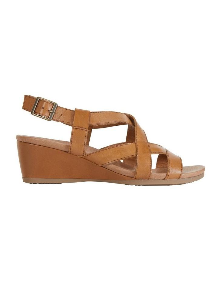 Miriam Cognac Glove Sandal image 1