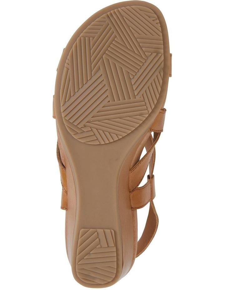 Miriam Cognac Glove Sandal image 5