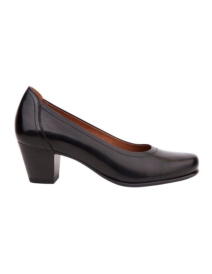 Cyrus Black Glove Heeled Shoes image 1