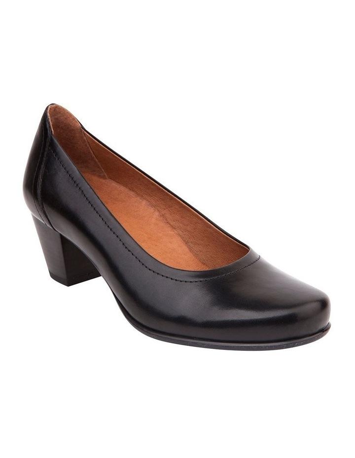 Cyrus Black Glove Heeled Shoes image 2
