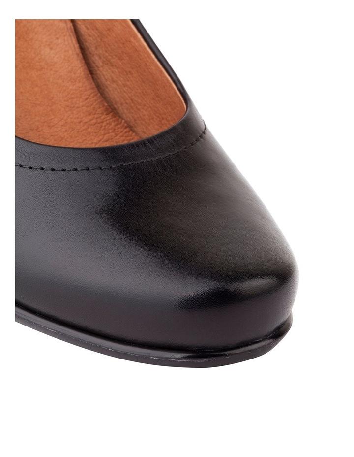 Cyrus Black Glove Heeled Shoes image 3