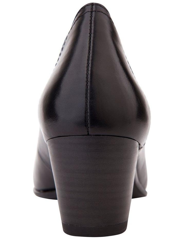 Cyrus Black Glove Heeled Shoes image 4