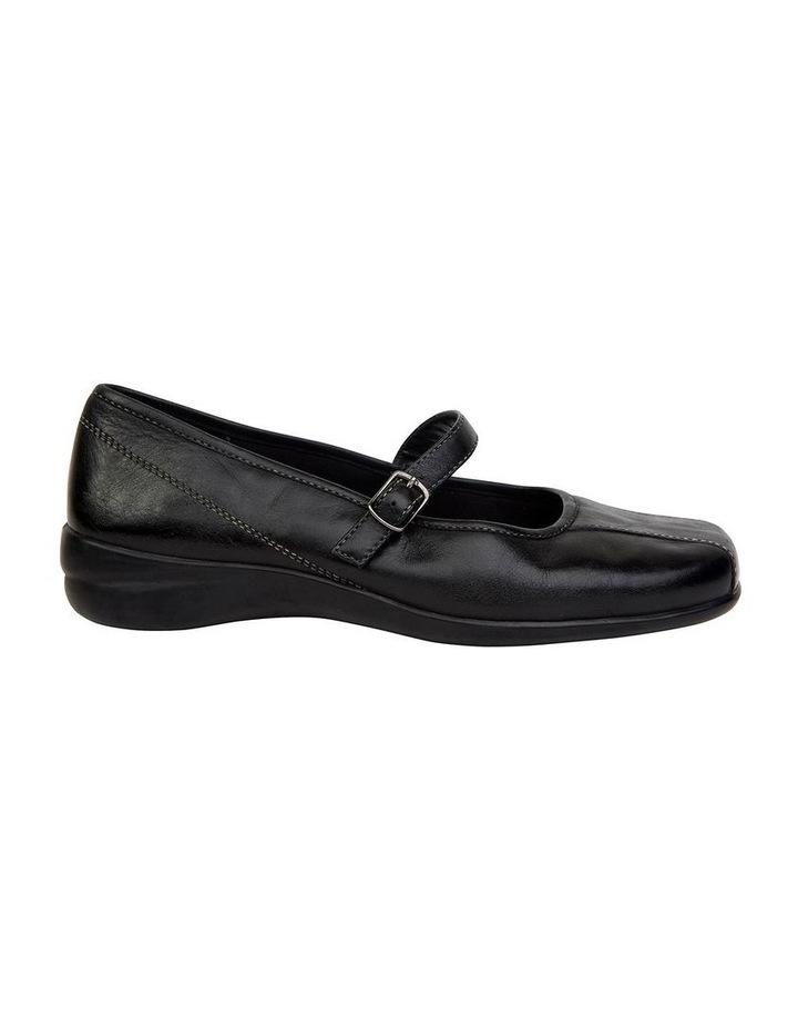 Brianna Black Glove Flat Shoes image 1