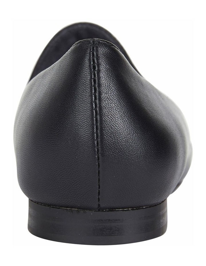 Castle Black Glove Flat Shoes image 5