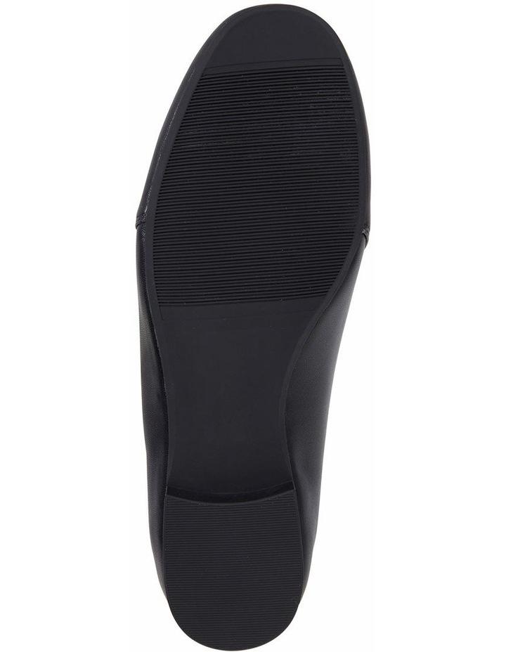 Castle Black Glove Flat Shoes image 6