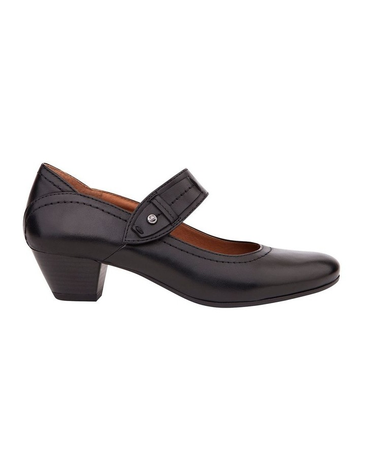 Appeal Black Glove Heeled Shoes image 1