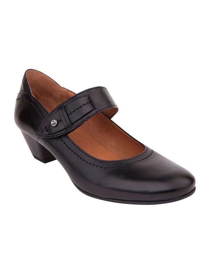 Appeal Black Glove Heeled Shoes image 2