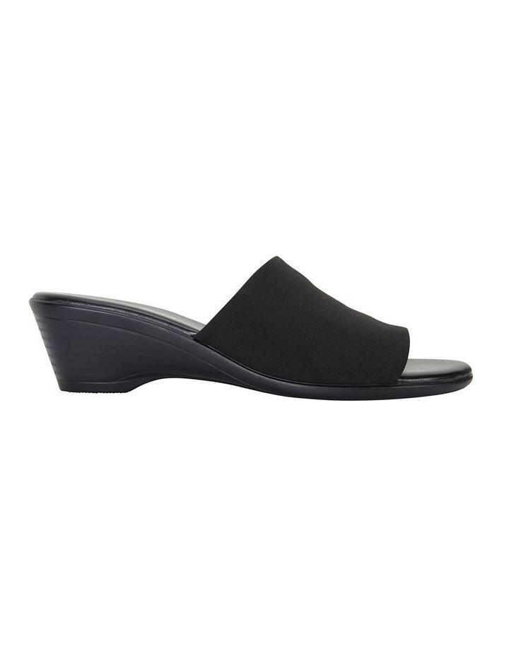Orient Black Fabric Sandal image 1