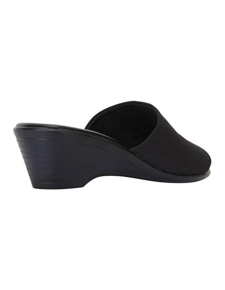 Orient Black Fabric Sandal image 4