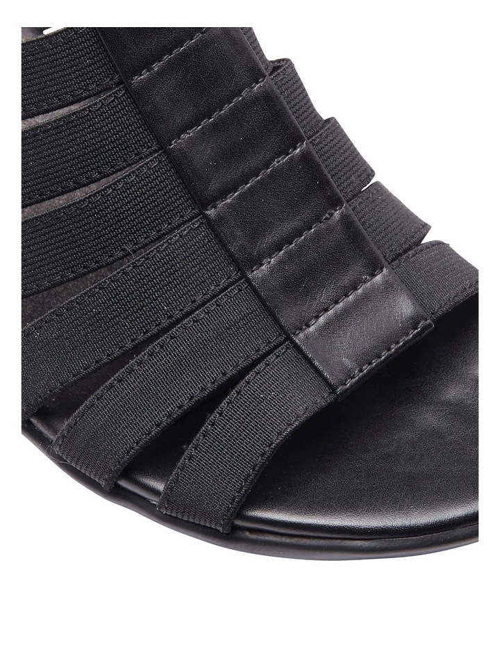 Canal Black Elastic/Glove Sandal image 6