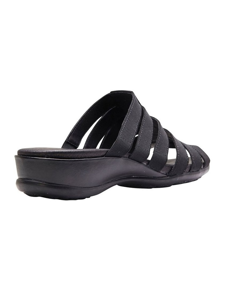 Canal Black Elastic/Glove Sandal image 7