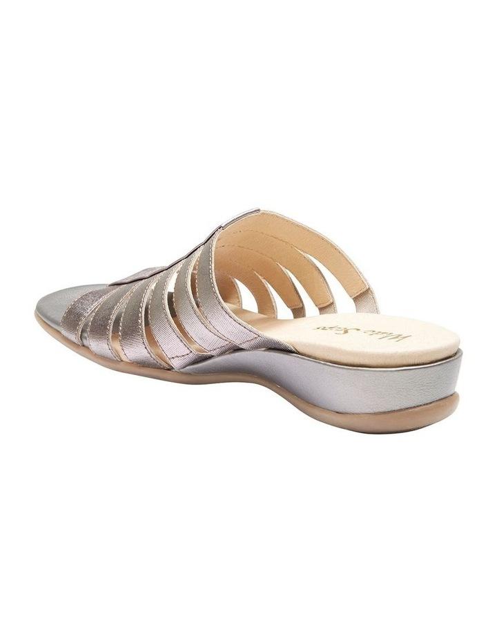 Canal Pewter Elastic/Metallic Sandal image 3
