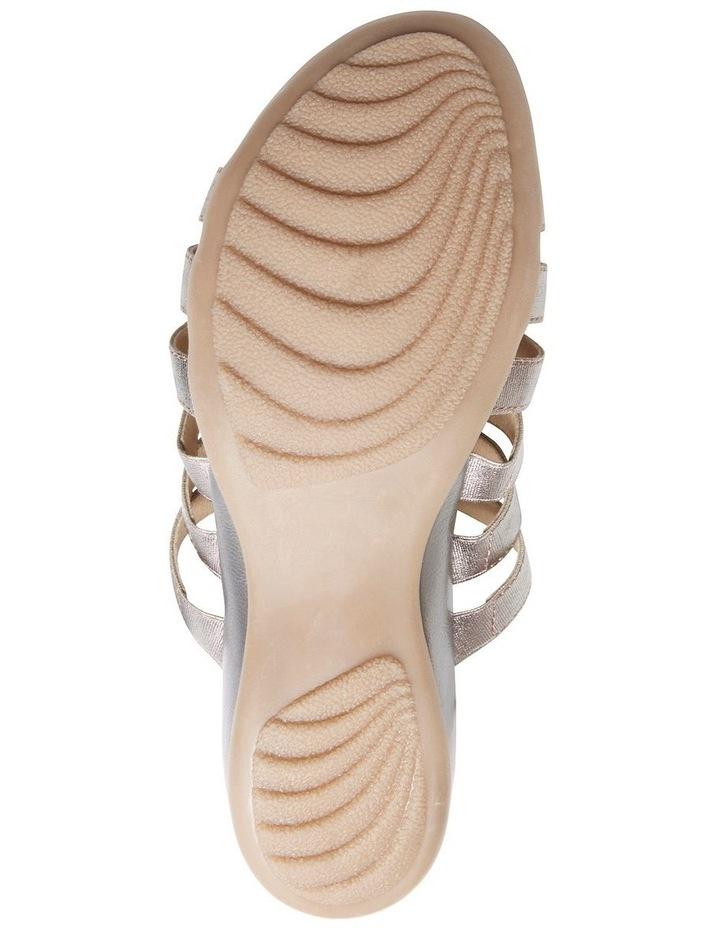 Canal Pewter Elastic/Metallic Sandal image 5