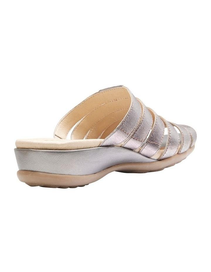 Canal Pewter Elastic/Metallic Sandal image 7