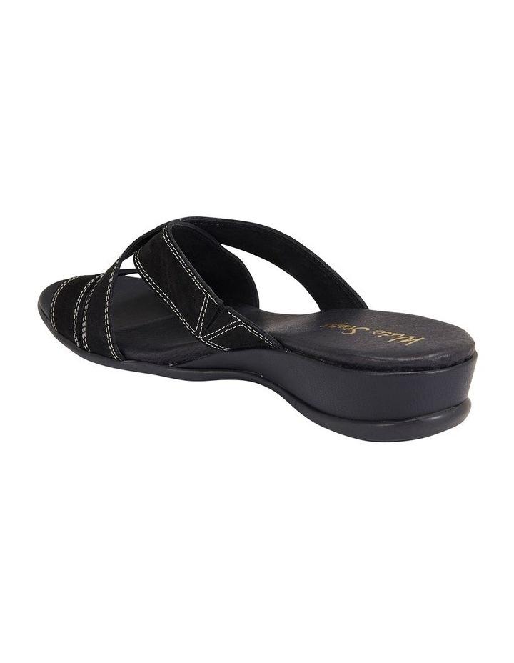 Caddy Black Nubuck Sandal image 4