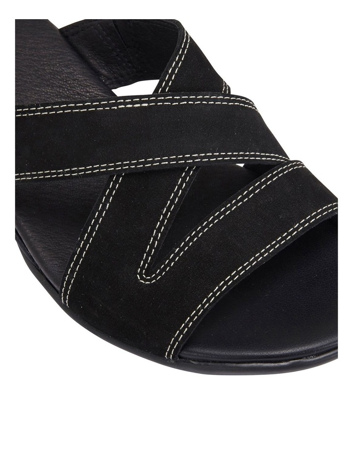 Caddy Black Nubuck Sandal image 5