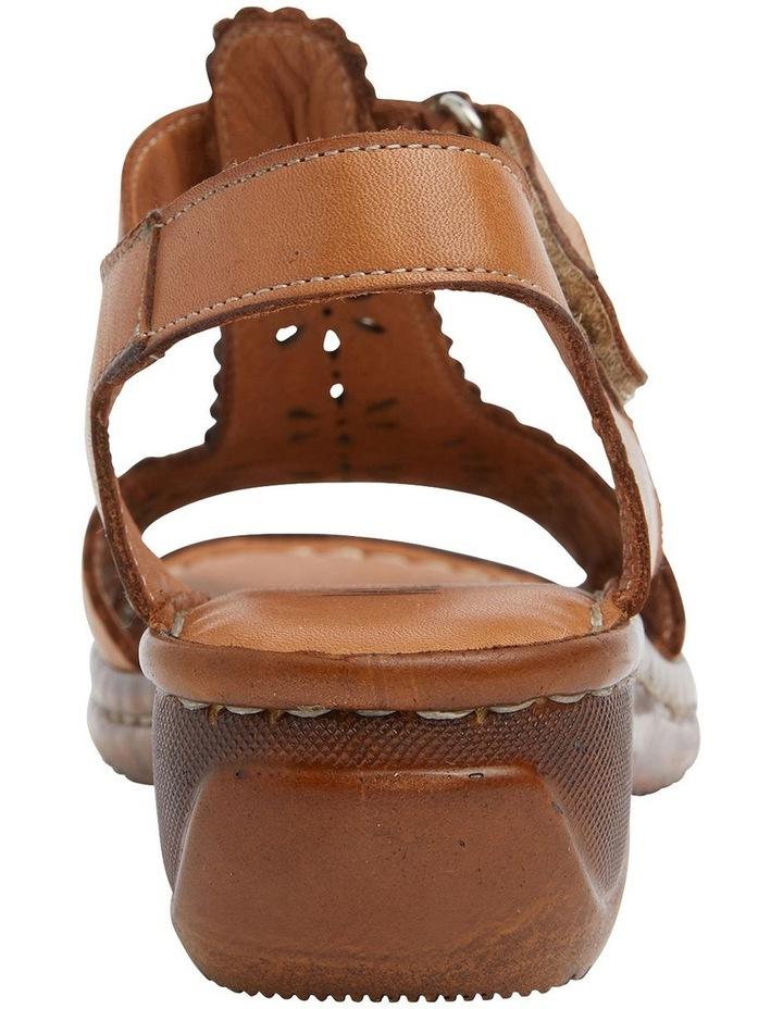 Dario Tan Glove Wedge Sandal image 5