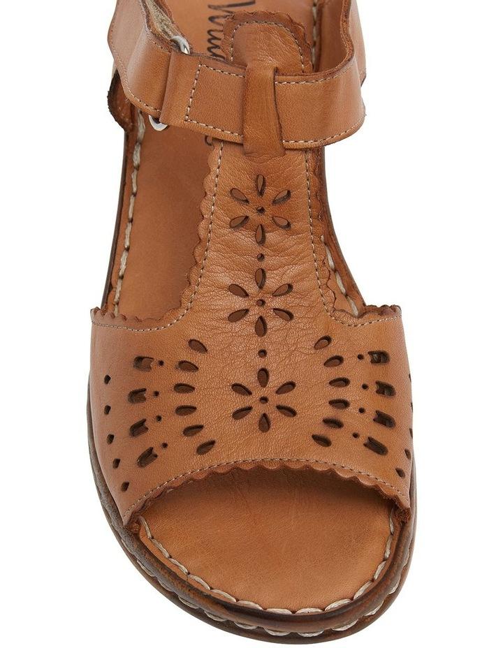 Dario Tan Glove Wedge Sandal image 6