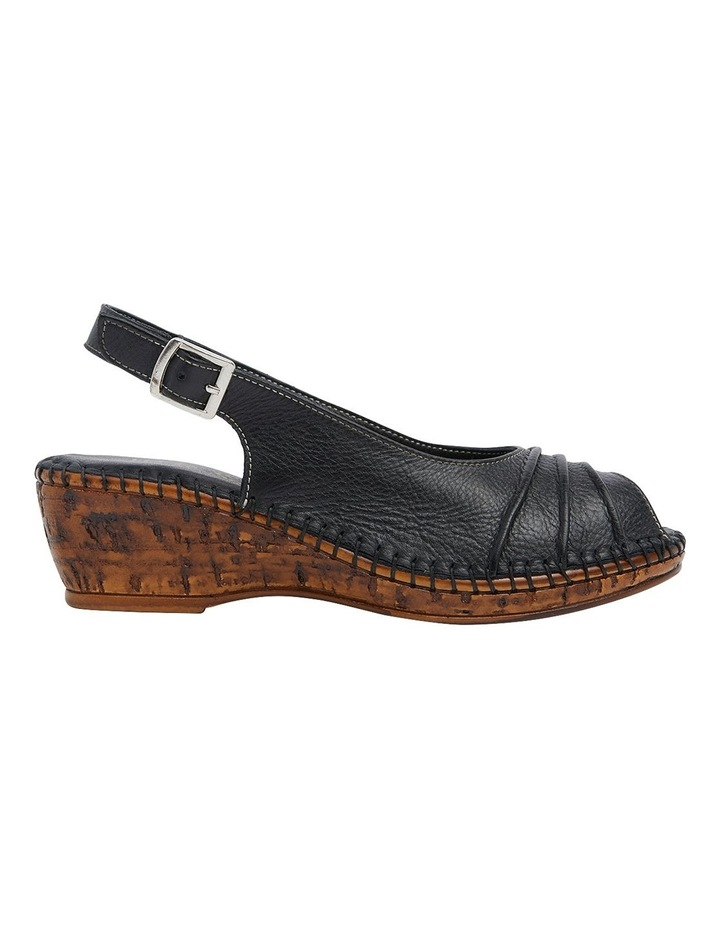Dex Black Glove Wedge Sandal image 1